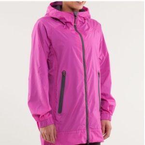 Lululemon No Rain No Gain Raincoat Paris Pink 4